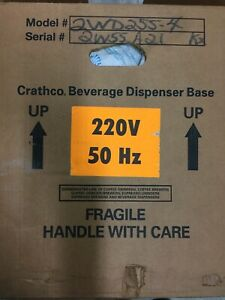 1 X New Crathco D255 4 Beverage Dispenser Base Only