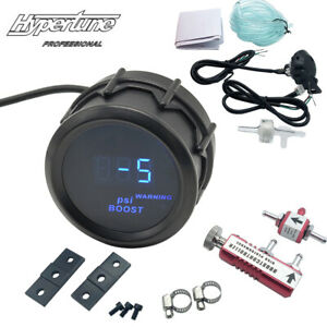 2 Digital Gauge 52mm With Red 0 30psi Manual In Cabin Boost Controller Kit