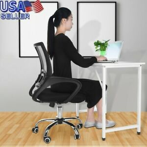 High Back Mesh Office Chair Adjustable Ergonomic Swivel Computer Task Chair Y88