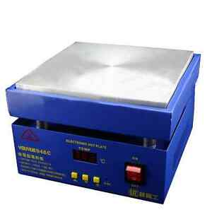 946c Electronic Hot Plate Preheat Station Gba Screen Rework Solder Pcb Remove