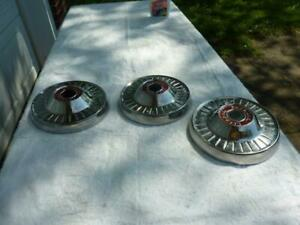 Dog Dish Hubcaps Nos For 1954 Packard Clipper Models 54