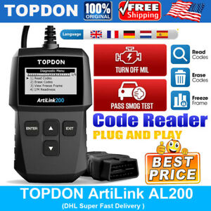Thinkobd 100 Thinkcar Obdii Obd2 Eobd Auto Diagnostics Code Reader Scanner Tool