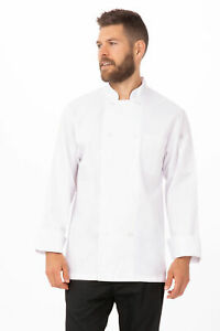 Chef Works Mens Le Mans Chef Coat wccw