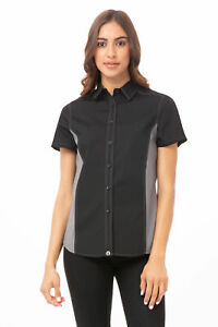 Chef Works Womens Universal Contrast Shirt cswc