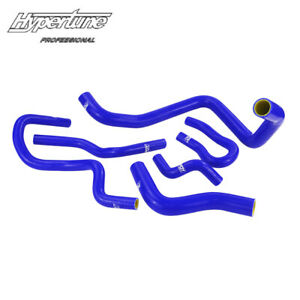 Silicone Radiator Coolant Hose Kit Fit For Honda Civic Sohc D15 D16 Eg Ek 92 00