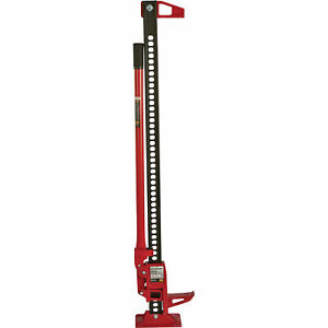 Strongway Farm Jack 3 1 2 Ton Capacity 5in 40in Lift Range