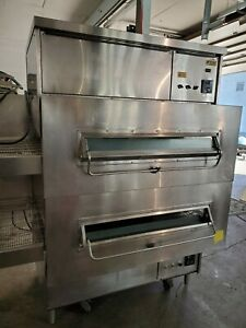 Middleby Marshall Ps 360s Double Stack Natural Gas Conveyor Pizza Ovens