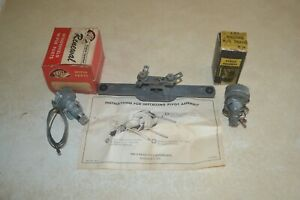 1953 Chevy Pontiac Nos Trico Wiper Linkages And Wiper Motor Mount Matched Set