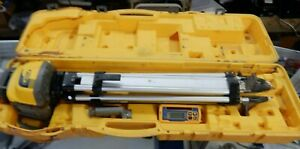 Spectra Precision Laser Ll300n Level W Hl450 Receiver Tripod And Case