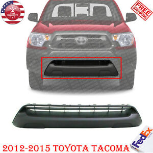 Front Bumper Grille Valance Textured For 2012 2015 Toyota Tacoma Base pre runner