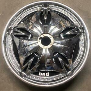 Dub Esinem Rims 20 Inch 5x120 45mm Chrome Single Wheel Spinner No Cap