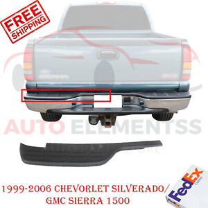 Rear Bumper Step Pad Lh For 99 2006 Chevrolet Silverado Sierra 1500 Fleetside