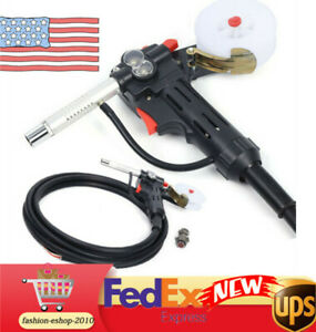Mig Spool Gun Push Pull Feeder Aluminum Welding Torch With 5m Lead Diy Tool Us