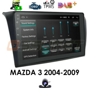 For 2004 2009 Mazda 3 9 Android 10 Car Radio Stereo Navi Gps Canbus Bt 32gb Ca