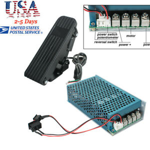 Professional Reversible Motor Speed Controller Pwm Control Soft Start pedal