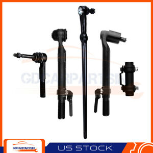 Suspension 5 X Front Tie Rod Drag Link Fits Ford F 250 F 350 Super Duty 4wd 4x4