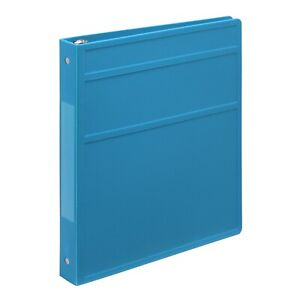 Carstens 1 Inch Heavy Duty 3 ring Binder Pool Blue Blemished Lot Of 20
