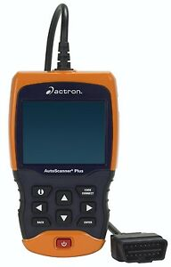 Actron Cp9680 Autoscanner Plus Obd Ii Abs Airbag Scan Tool W Color Screen