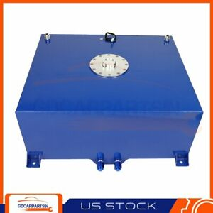 Blue Coat Aluminum Racing Drift Fuel Cell Tank Cap Level Sender 20 Gallon 76l