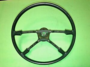 Vw Late Super Beetle Bug Steering Wheel Lower Cover Lenkrad Genuine Nos