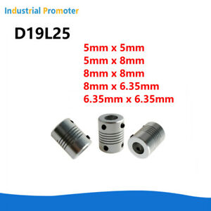 Aluminum Alloy Flexible Shaft Coupling For Cnc Stepper Motor Coupler Id 5 To 8mm