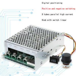 10 55v 100a 5000w Reversible Dc Motor Speed Controller Pwm Control Soft Start Us
