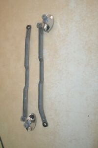 1949 50 Plymouth P 18 Conv Coupe Nos Wiper Linkages Trico Matched L R Pair