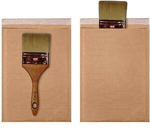 250 0 6 5x10 Kraft Natural Paper Padded Bubble Envelopes Mailers Case 6 5 x10