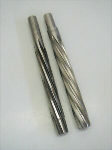 2 Piloted Chucking Reamers Straight Shank Spiral 8 Flute Aircraft Tools