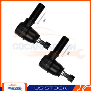 Fits For 1995 2002 Land Rover New Brand Front Outer Tie Rod Ends Steering Kit 2x