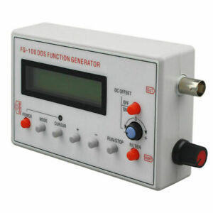 Fg 100 Dds Function Signal Generator Frequency Counter 1hz 500khz Usb Cable Gt