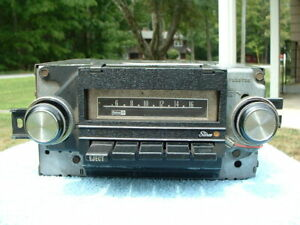 Vintage Pontiac Accessory Delco Am 8 Track Stereo Radio Original Gto Lemans Gm