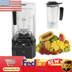 Pro Commercial Soundproof Cover Blender Mixer Juicer Smoothie Maker Mixer 2 2kw