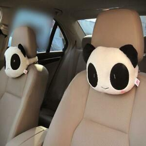 Cartoon Cute Car Neck Panda Pillow Headrest Neck Rest Support Cushion Neck Pillo