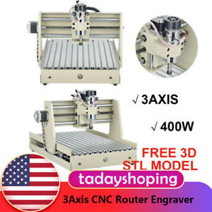 Usb Port 3040t 3axis Cnc Router Engraver 400w Engraving Drilling Milling Machine