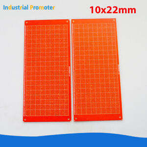 2pcs Diy Prototype Paper Pcb Universal Circuit Board Single Sided 10 X 22 Cm