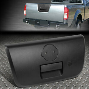 For 01 04 Nissan Frontier Textured Tailgate Rear Door Handle W latch Keyhole