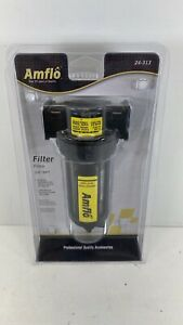Amflo Air Compressor Airline Inline Particle water Filter 24 313 3 8 Npt
