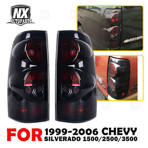 For 99 06 Chevy Silverado 99 03 Gmc Sierra Tail Lights Replacement Assembly Pair