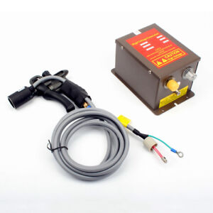 110v Ion Wind Gun Industrial Static Eliminator power Supply 7kv Ion Generator