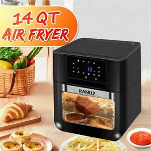 Air Fryer Intelligent Oil free Multi function Fry Machine Oven 1700w 14qt New