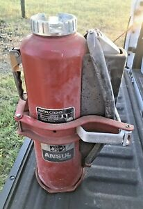 Heavy Duty Ansul Red Line 20lb Abc Dry Chemical Fire Extinguisher And Bracket
