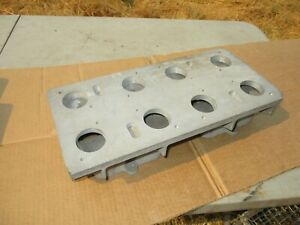 Offenhauser 4x2 Weber Tunnel Ram Intake Manifold Top Only Chevy Bbc 5977