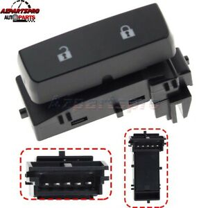 Master Front Door Lock Switch Driver Side For 2008 2013 Chevy Silverado 1500 Gmc