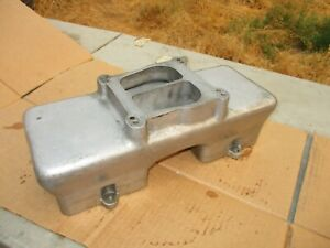 Offenhauser 1x4 Tunnel Ram Intake Manifold Top Only Chevy Bbc 5905 For 5904
