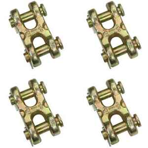1 2 Grade 70 Double Clevis Hook 4 Pack