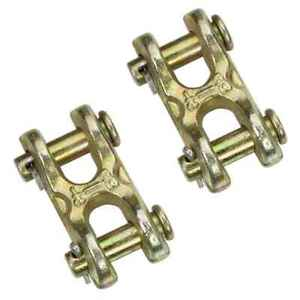 5 16 Double Clevis Hook Grade 70 2 Pack