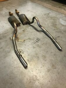 Oem Ford 1996 Mustang Gt Exhaust System Mufflers Pipes Tips 1997 1998 Cobra Nos