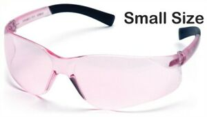Pyramex Mini Ztek Safety Glasses With Pink Lens Free Shipping