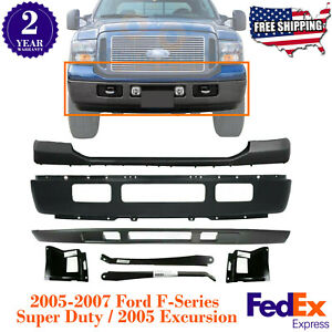 Front Bumper cover valance brackets Lh rh For 05 07 Ford 250 350 2005 Excursion